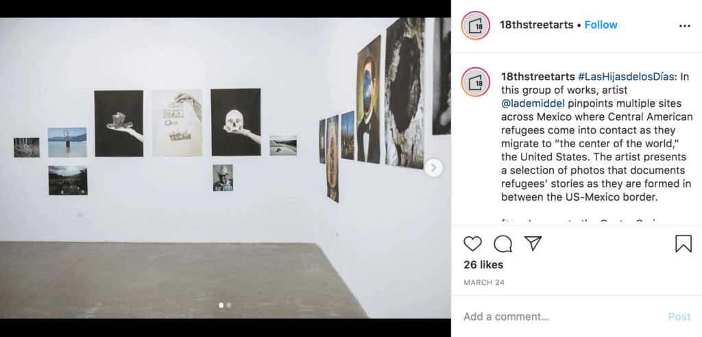 instagram 18th street arts center complex west side LA museums santa moica artist residency los angeles