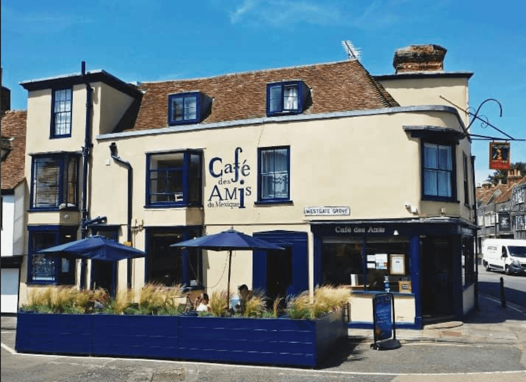 canterbury england kent uk Cafe des Amis Aztect Spanish French authentic cuisine cute family atmosphere spice tourist favorite food restaurant