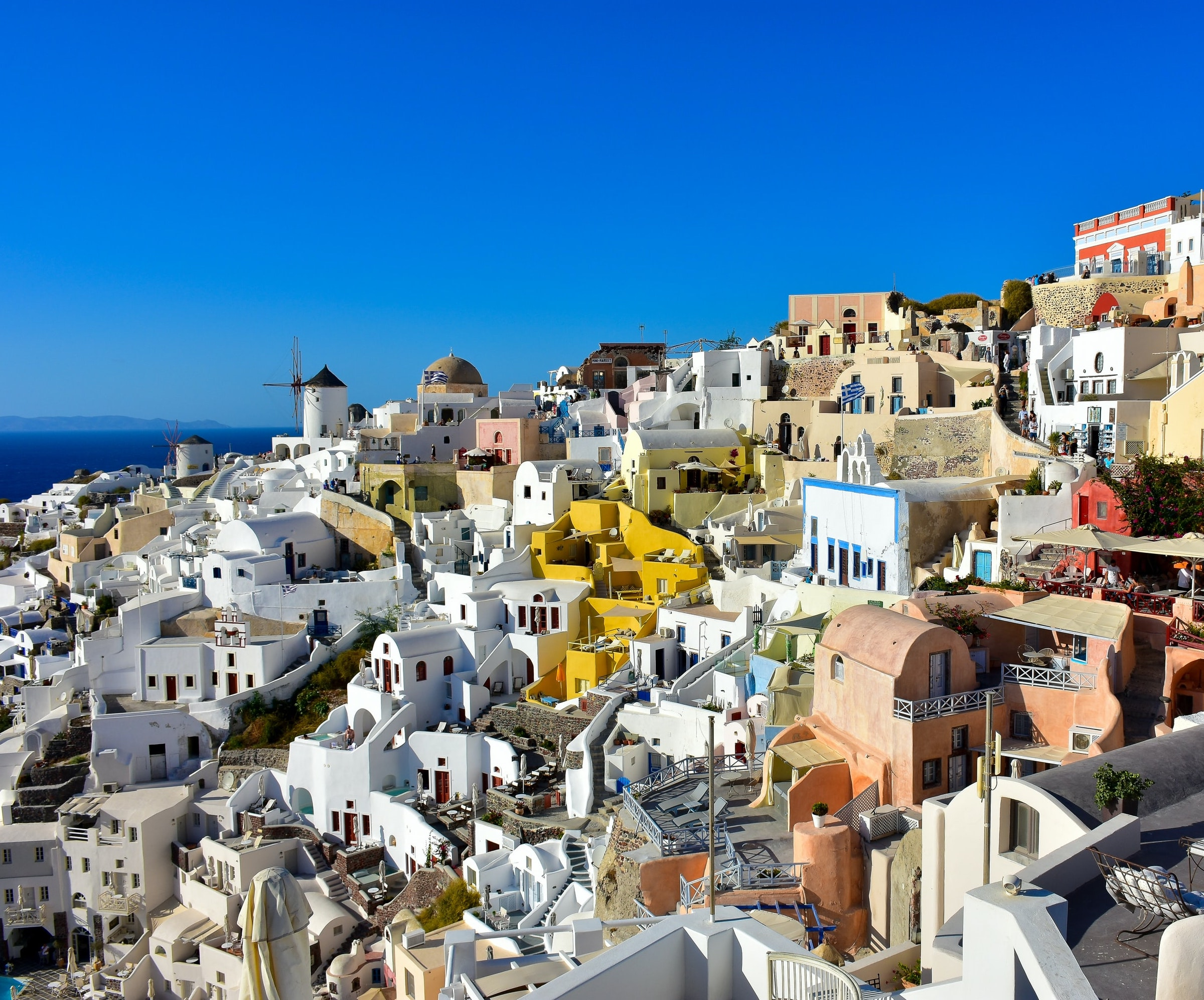 santorini greece greek city ancient wanderlust vacation travel travelers summer beautiful destination mediterranean