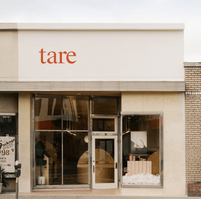 Eco-Friendly Shopping at Tare Los Angeles sustainable places businesses no plastic free progressive