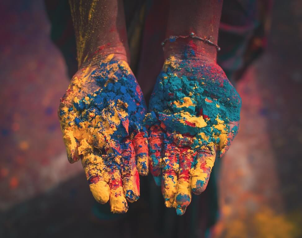 Things You'll Only See in India color colour holi festival indian culture dust fun festival festivities