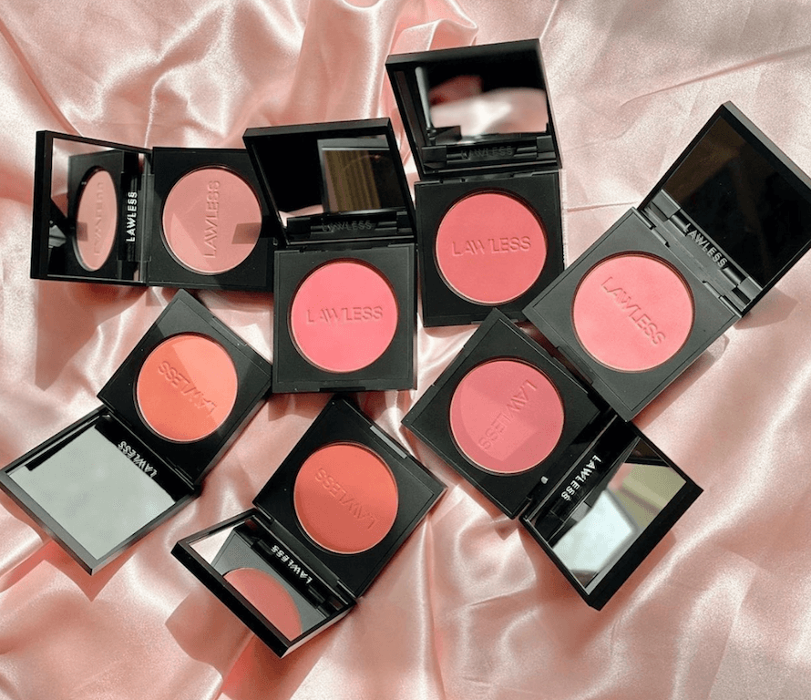 Clean Beauty Products lawless make me blush talc-free velvet blush cruelty free sustainable