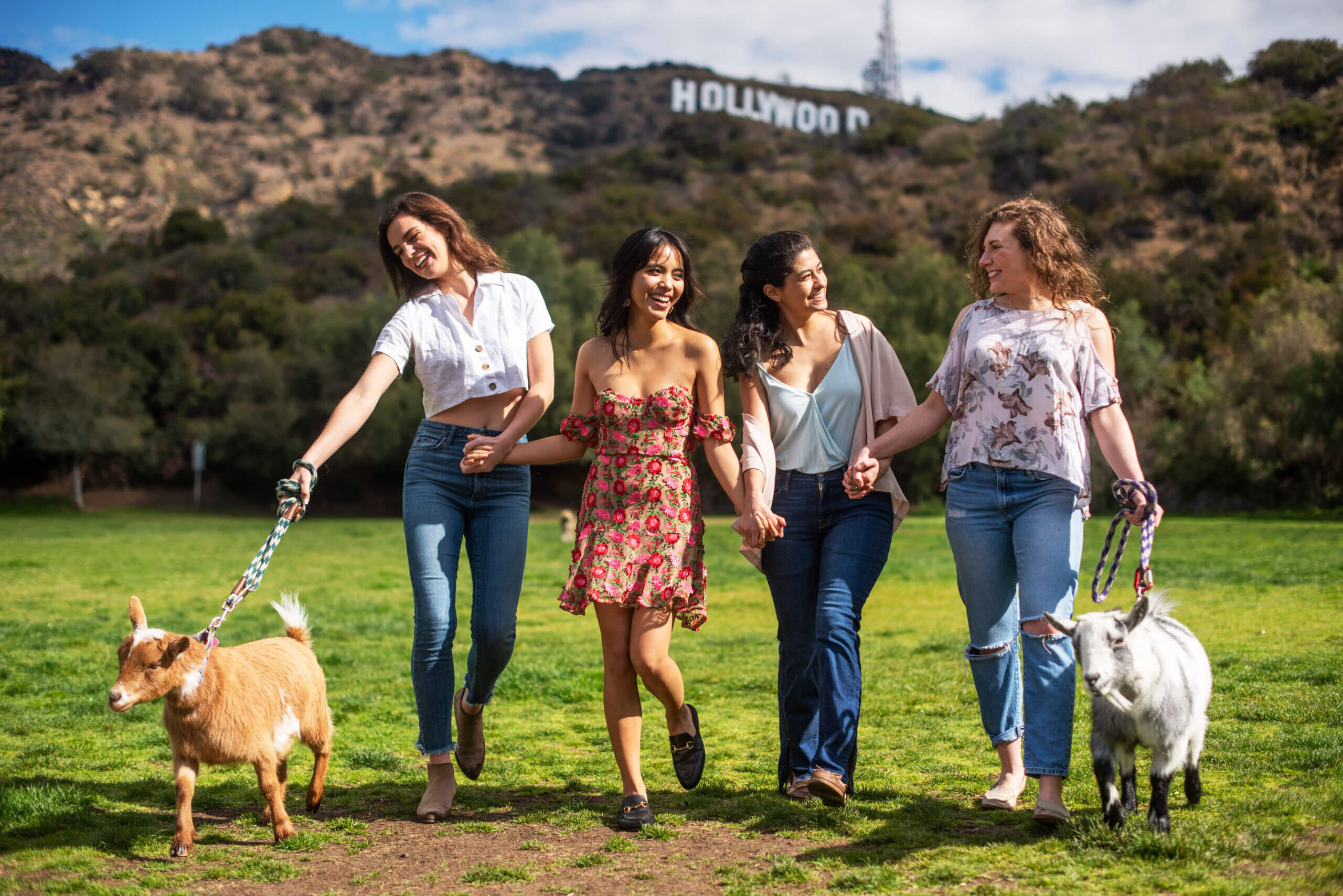 hollywood sign yourhere modern retreats experience