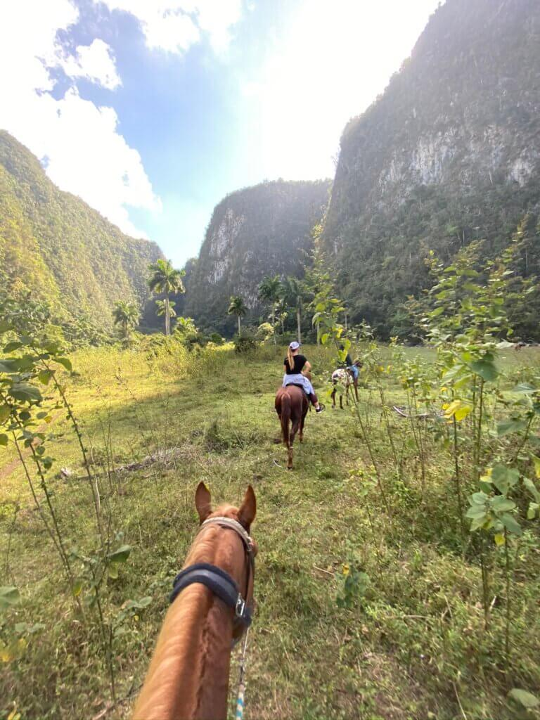 the vinales experiences cuba tourism group horseback riding cowboy family farm