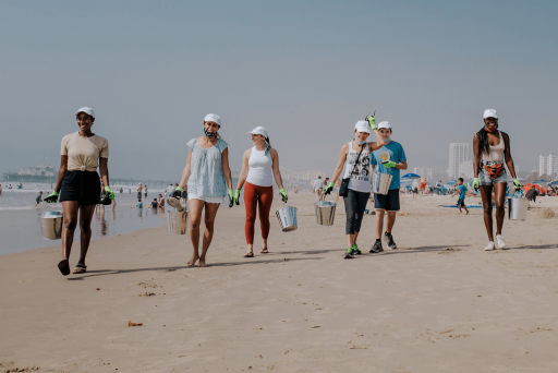 yourhere beach clean up event